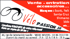vélo passion 58